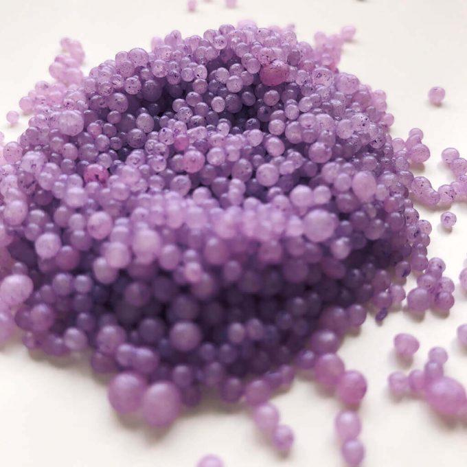 Пурпурный бисер для ванны #BUBBLZ